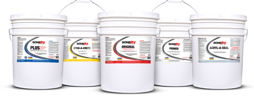 Bone Dry Concrete Sealers