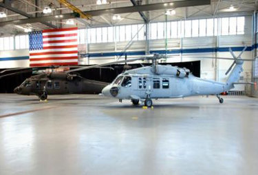 Concrete Floor Sealers for Military Hangars